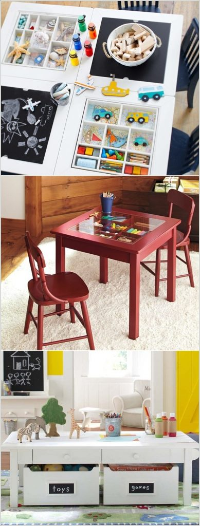 storage table for kids